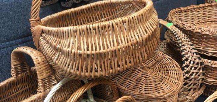 koszyki z wikliny