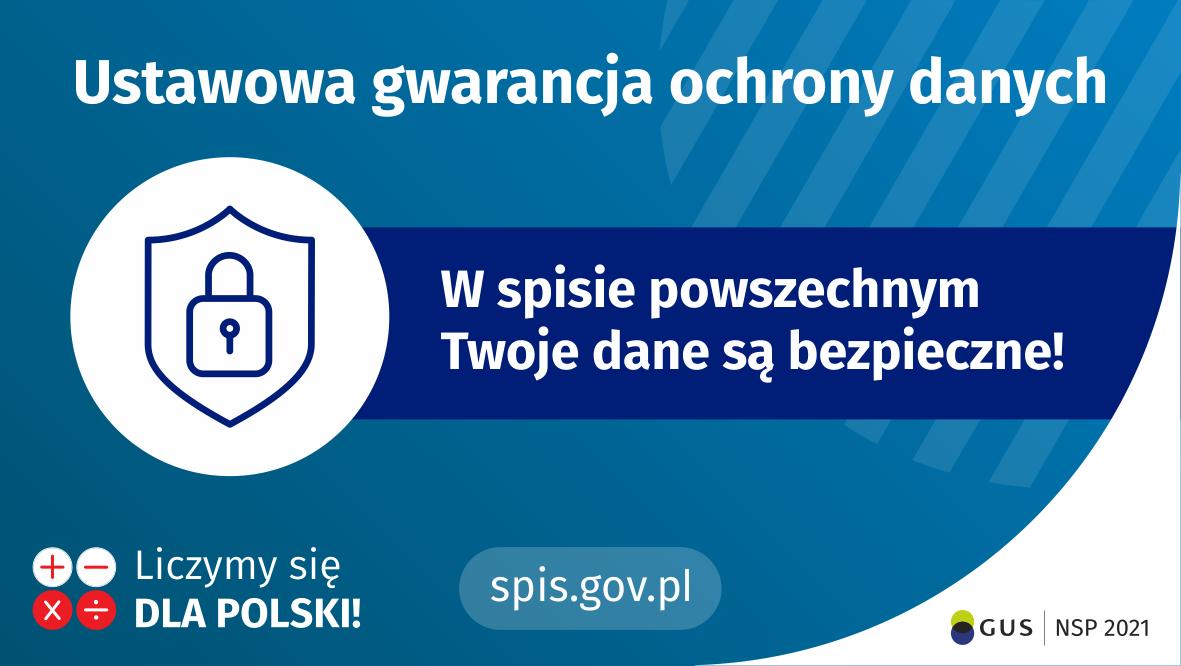 NSP2021 - Twoje dane będą bezpieczne