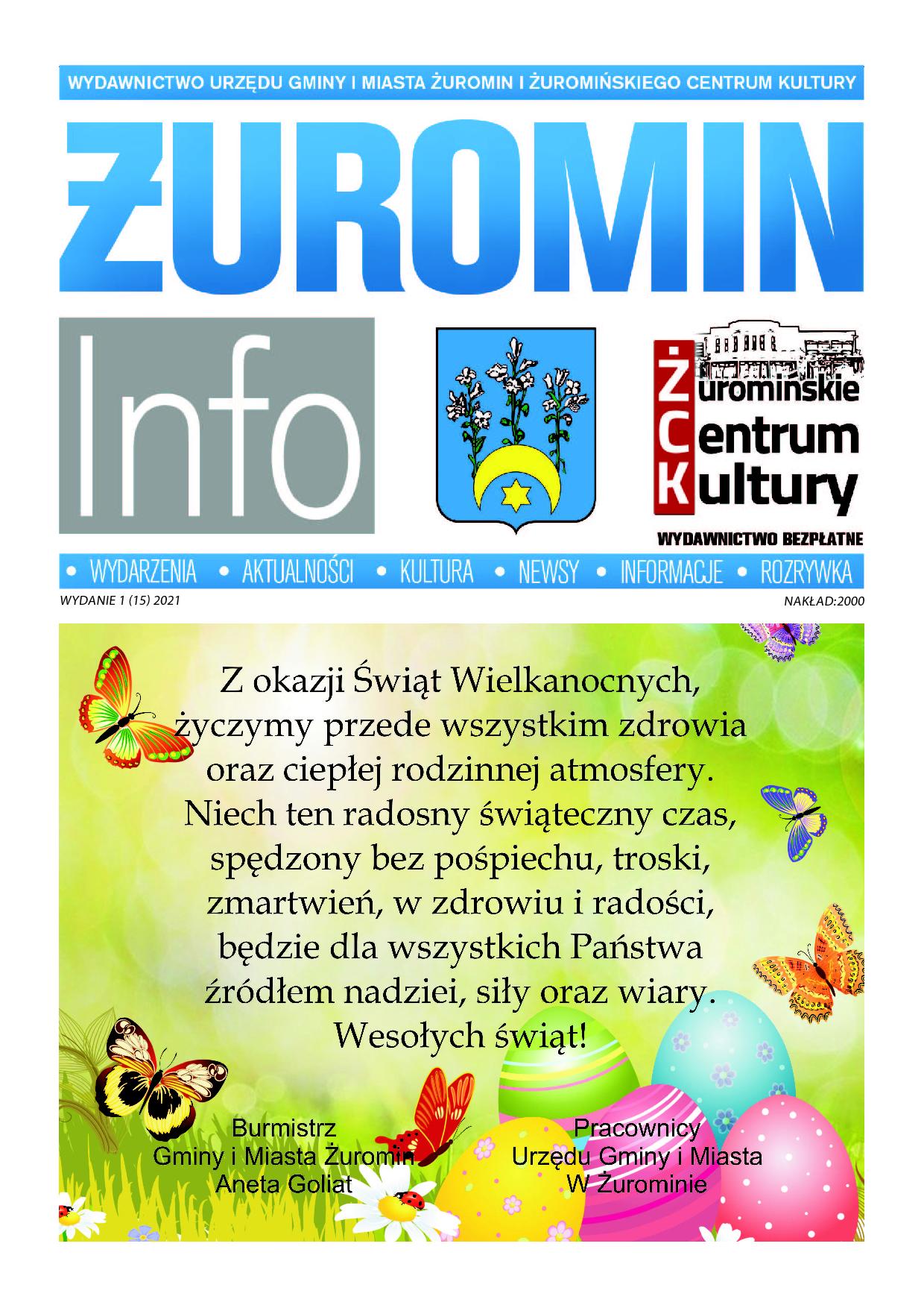 Żuromin Info 1(15)2021 strona1