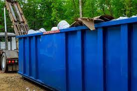 Kontenet ze śmieciami